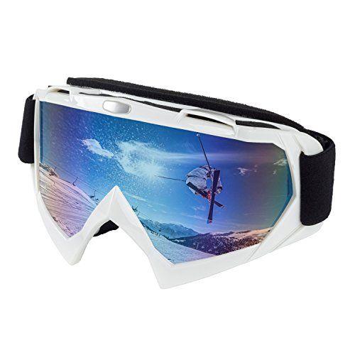 1f0dc84f9076 Ski Snowboard Snowmobile Goggles Zipline Podium XT No Fog Interchangeable Magnetic  Lenses Options US Ski Team Official Goggle Black…