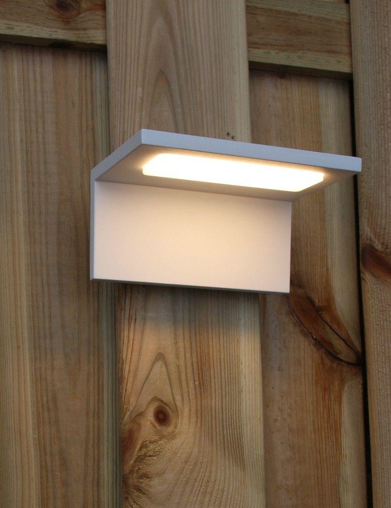 led buitenlamp trio leuchten trave wit buitenlampen alle