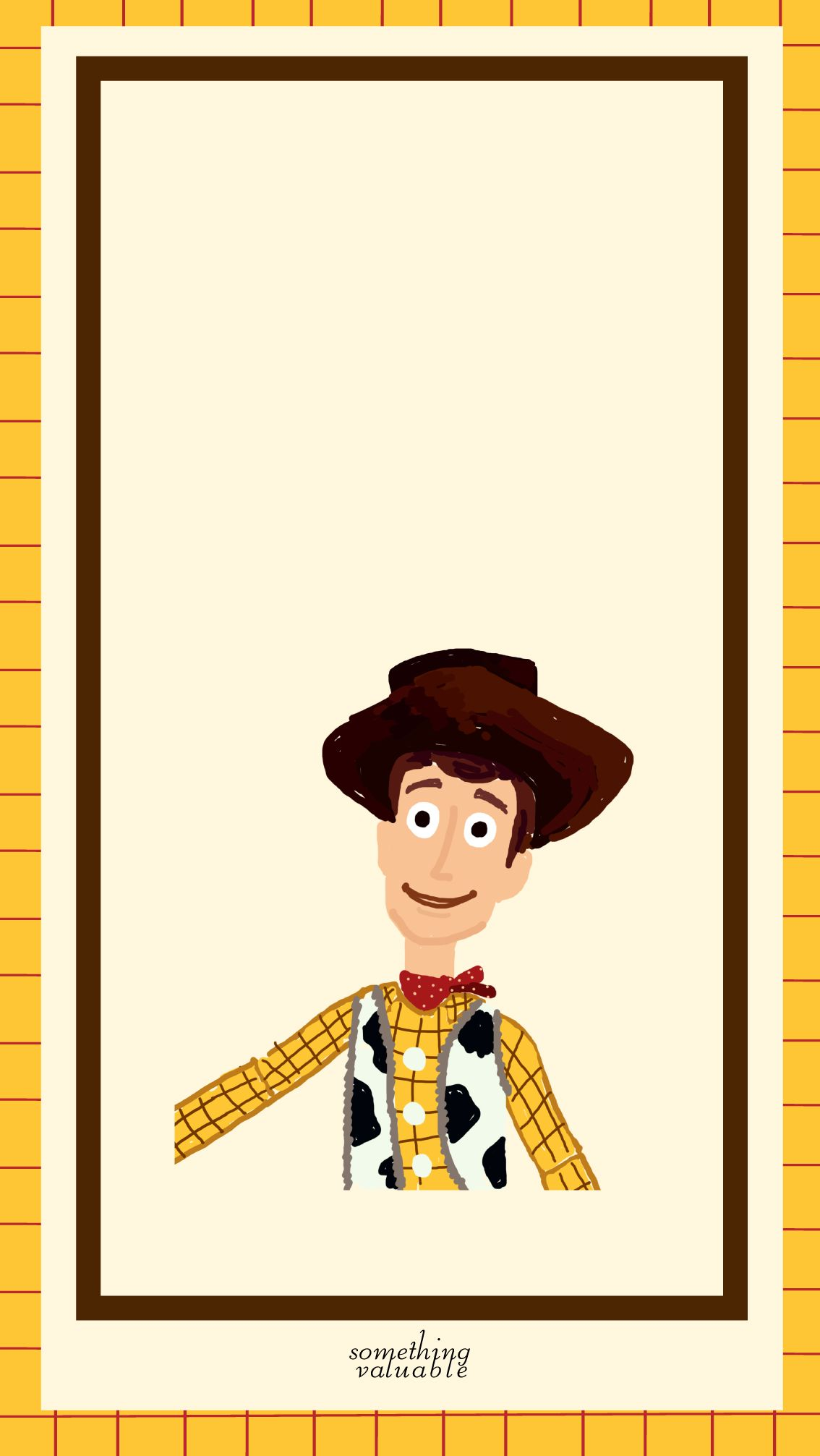 iPhone wallpaper design • toystory woody • http//blog