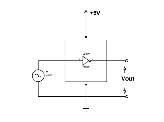 74hc14 ic example circuit