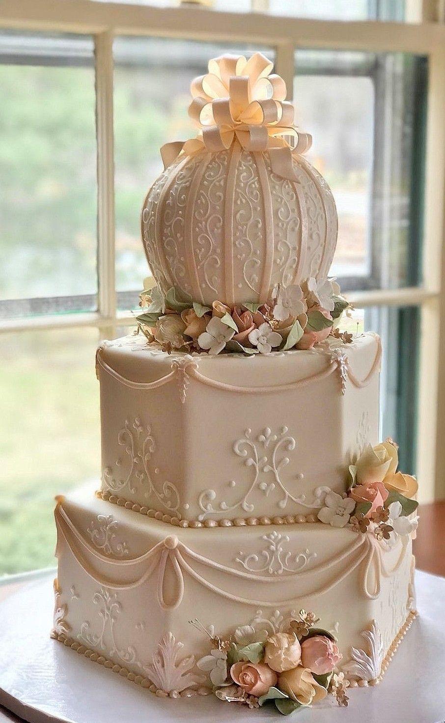 Classic Vintage Elegance With Images Wedding Cake Designs