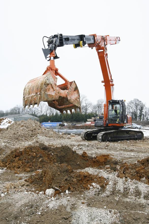 UKu0027s largest telescopic clamshell excavator equipment - dragline operator sample resume