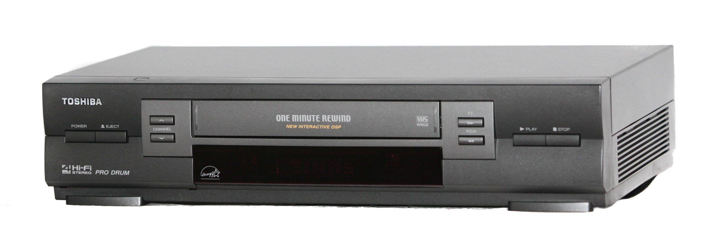 Toshiba W 602 Hi Fi Stereo Vcr Toshiba Hifi Vintage Electronics