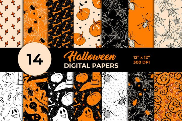 #halloweenclipart #halloweengraphics #seamlesspattern #falldigitalpaper #autumndigitalpaper #halloweenpaper #instantdownload #digitaldownload #commerciallicense #clipart