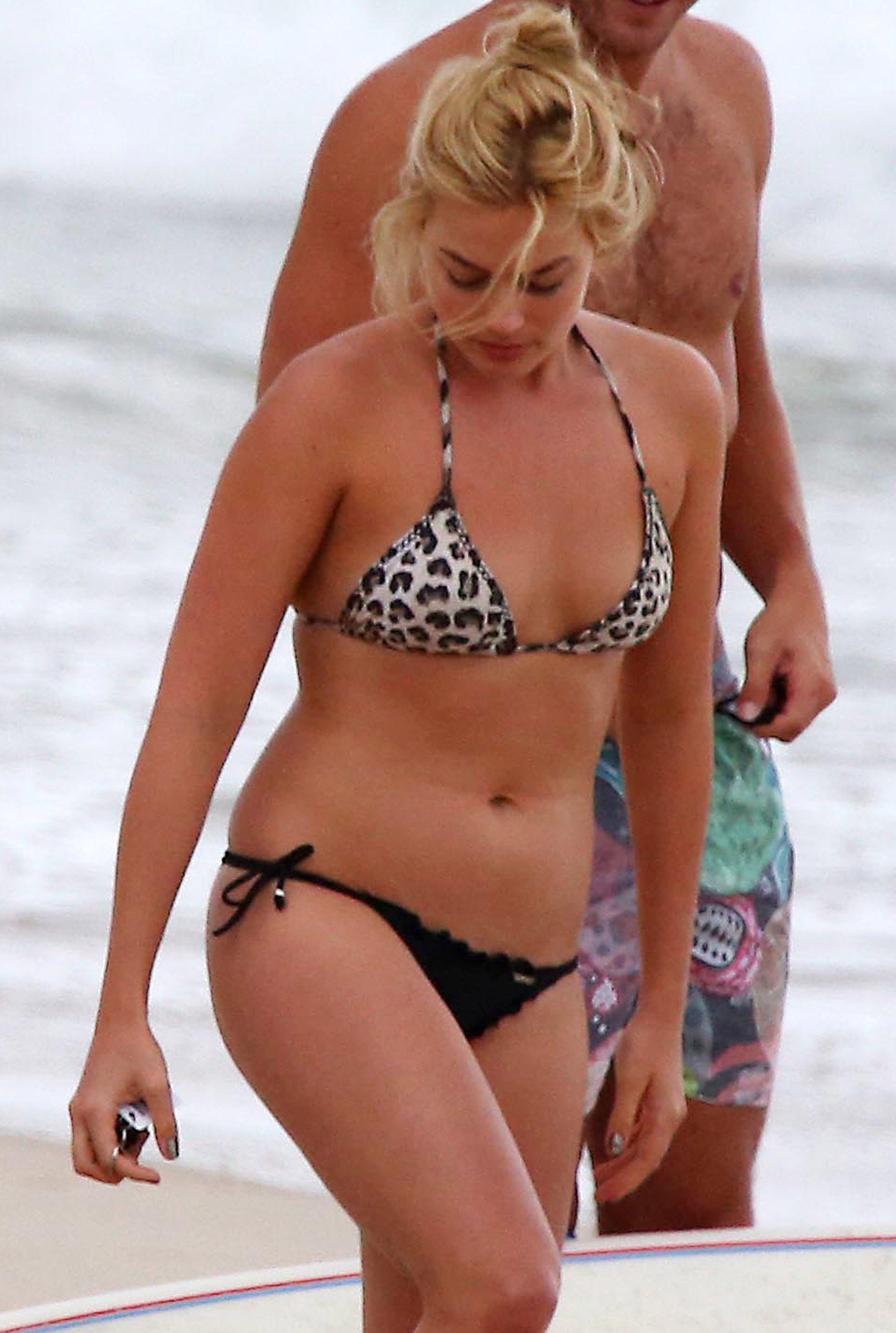 Bikini margot robbie Margot Robbie