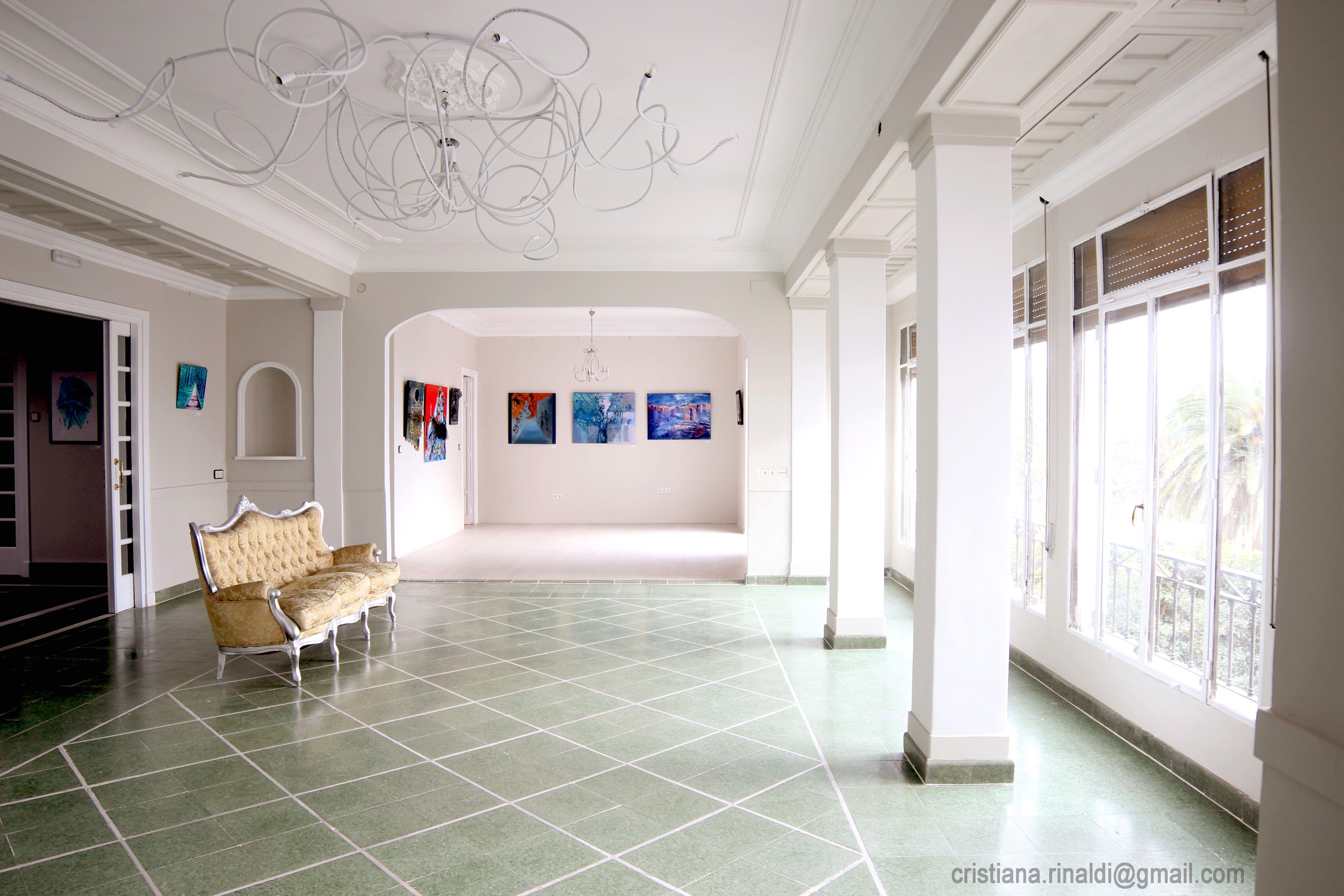 La casa de Grund, Málaga.