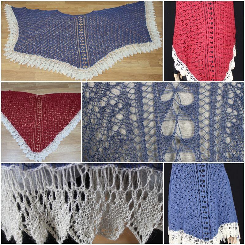 More than Faroese Shawl pattern by Tanja Luescher   Shawl, Shawl ...