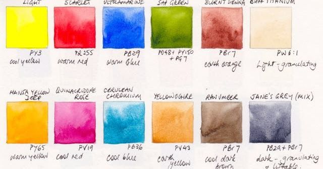 I am often asked what colours to buy to start painting with watercolour. I created an ' ultimate mixing set ' to address this question - a p...