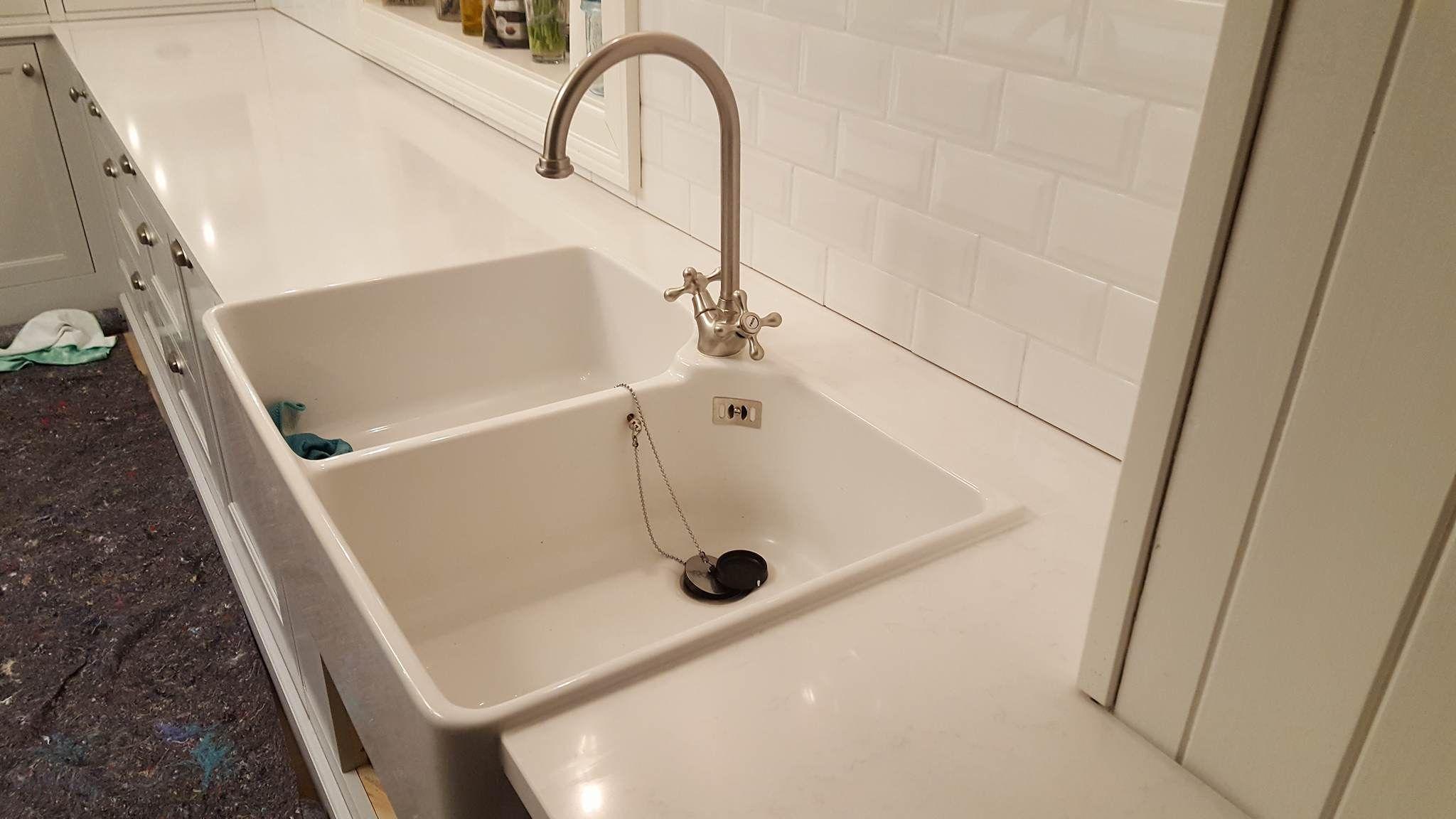 Kvarts Tootasapind Kivitasapind Valge Valamuga Home Decor Kitchen Worktop Sink