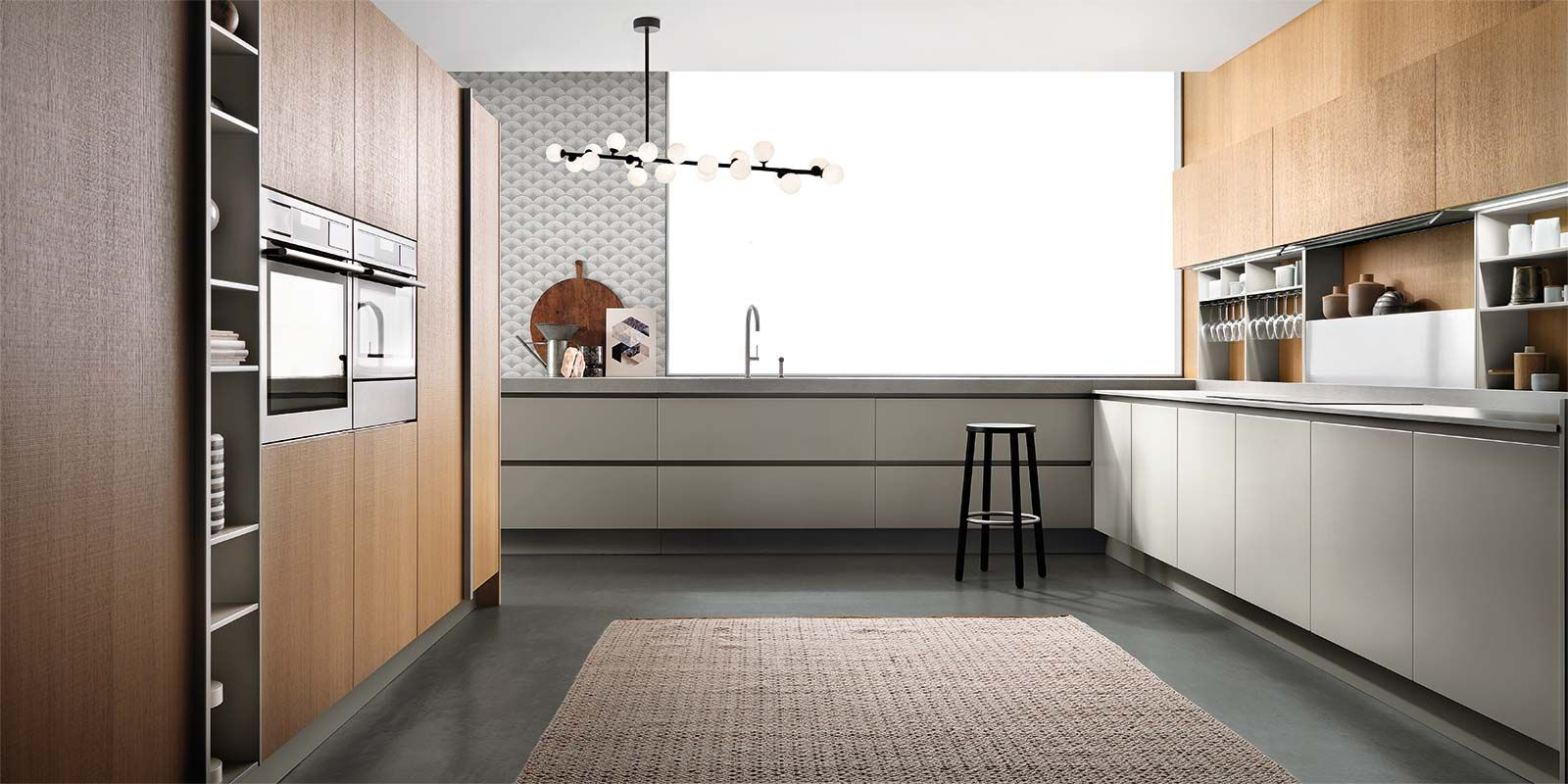 Italian Modern Design Kitchens - soul by Ernestomeda | Kitchen ...