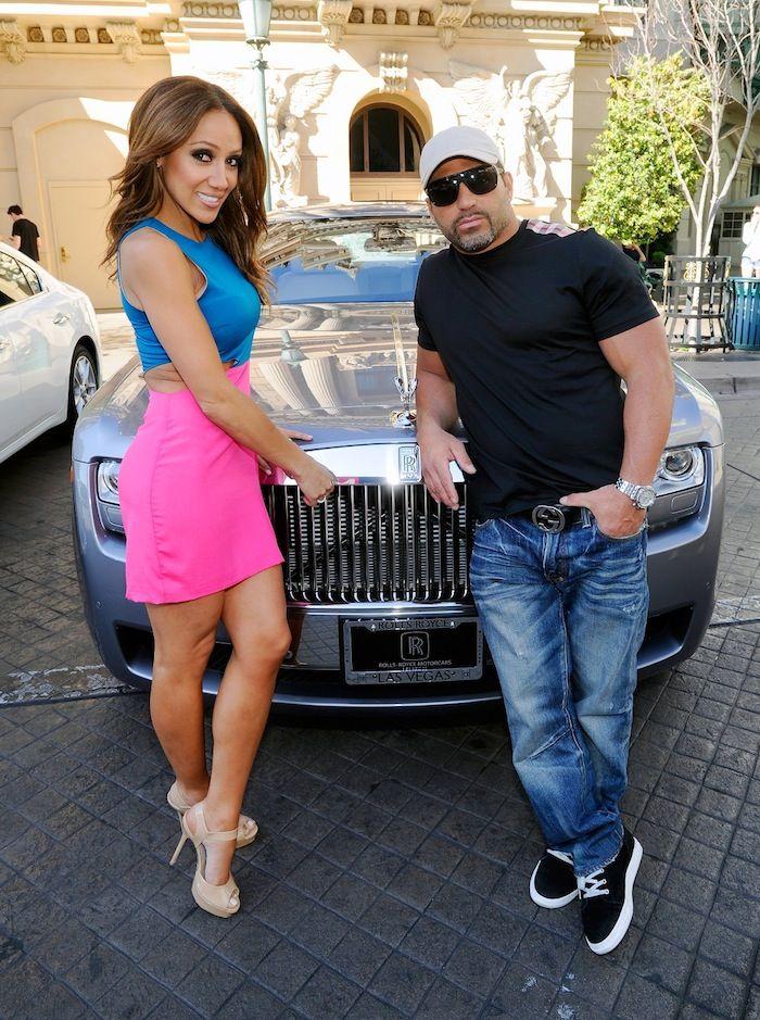Melissa Gorga and Rolls Royce