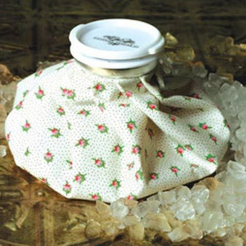 Rosebud Chintz Floral Print Vintage Ice Bag Cold Therapy Victorian Trading Company Ice Bag Rose Buds