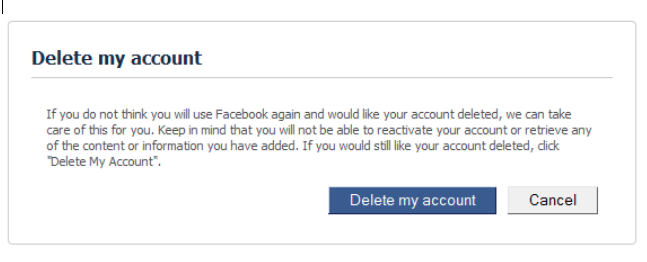 Delete facebook account permanently delete my account right now delete facebook account permanently delete my account right now delete facebook account link ccuart Gallery