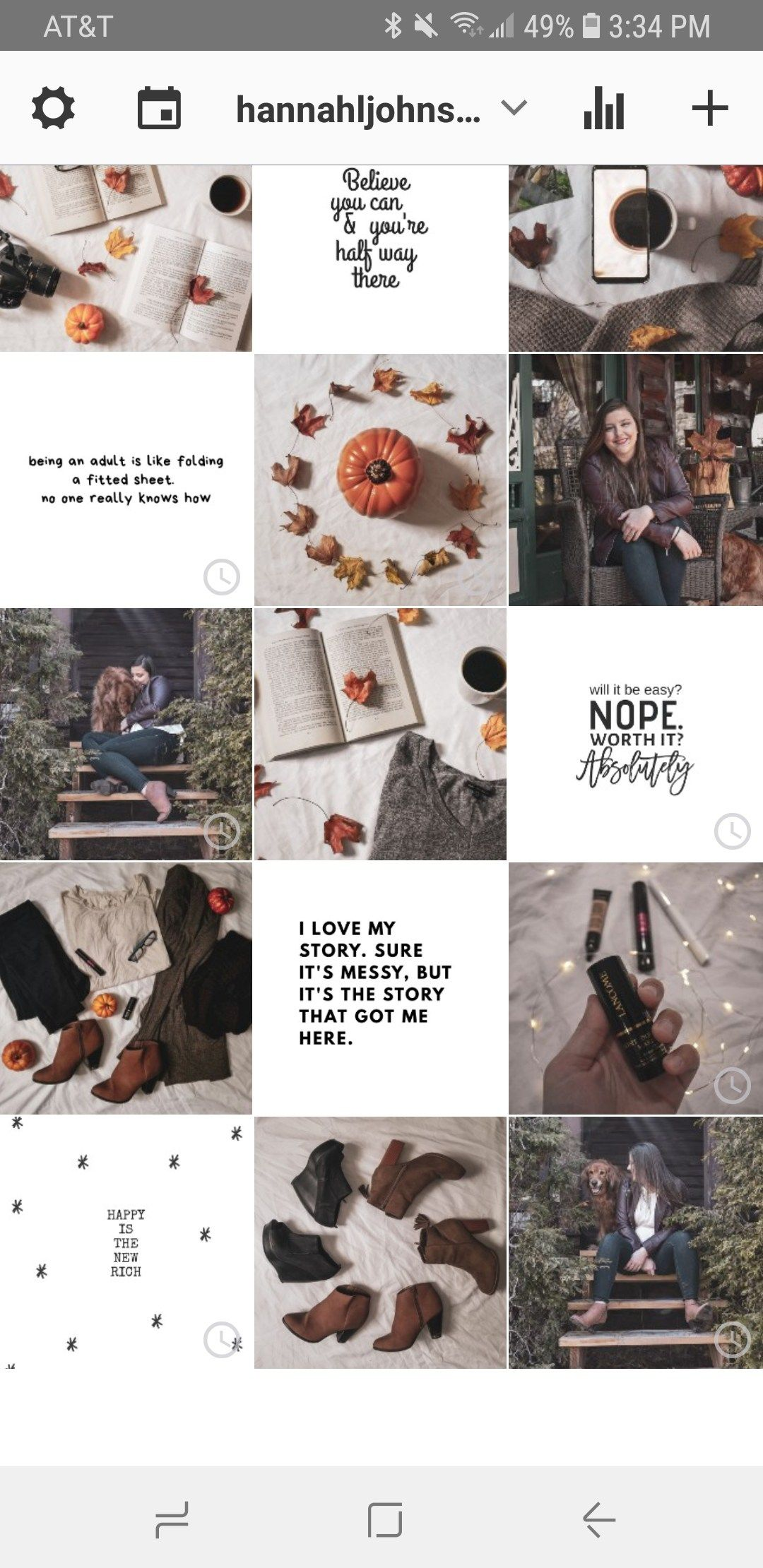 How to grow your following on instagram hannah johnson