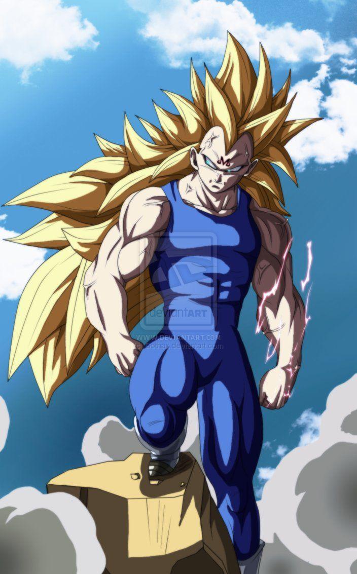 Majin vegeta ssj3 by gothax favorite anime goku - Majin vegeta pics ...