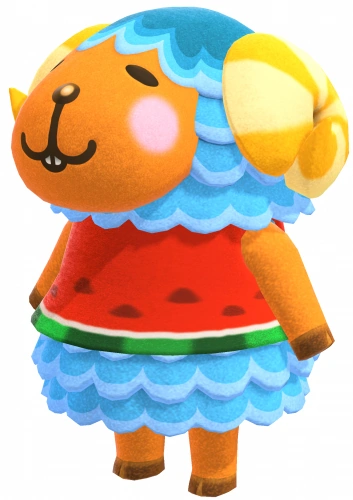 Pin on Real life animal crossing characters