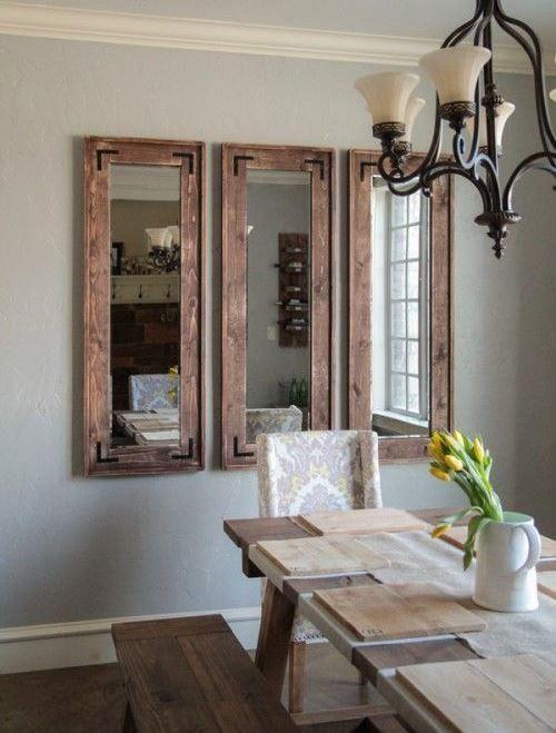 Sala De Jantar Com Espelho Estilo R 250 Stico Espelhos