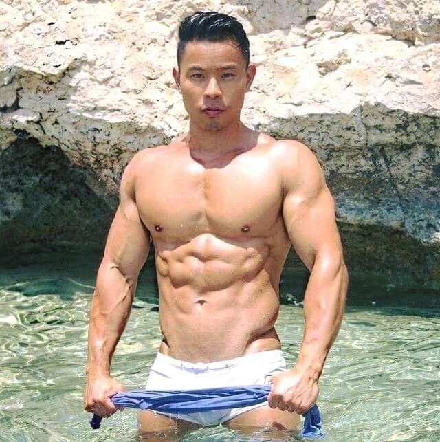 Asian Male Muscle | Asian cute, Cute asian guys, Asian