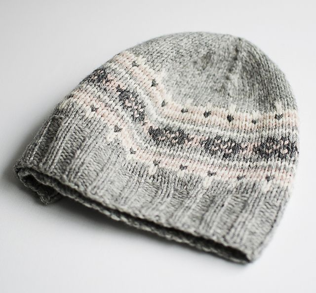 Journey features a 4-color fair isle pattern and is quick and easy ...