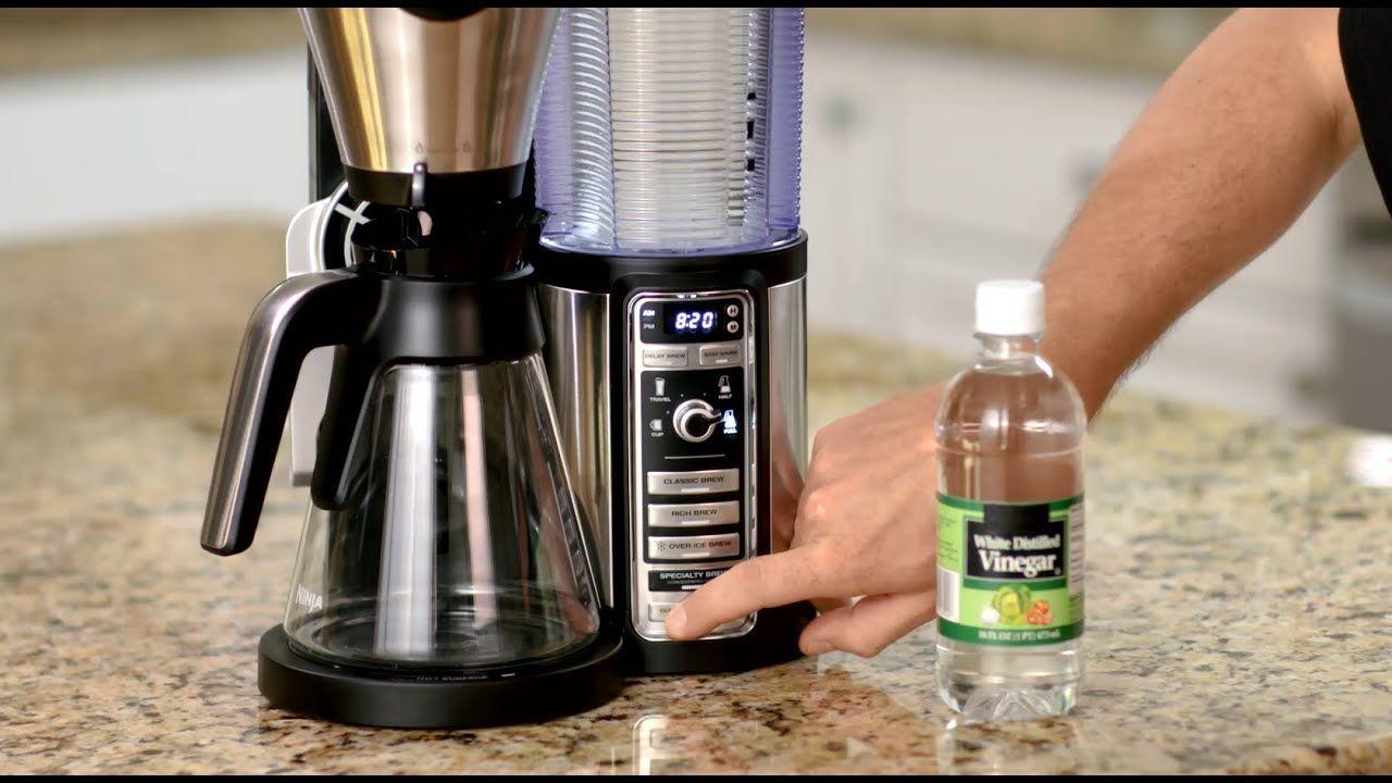 Descaling your ninja coffee bar ninja coffee maker
