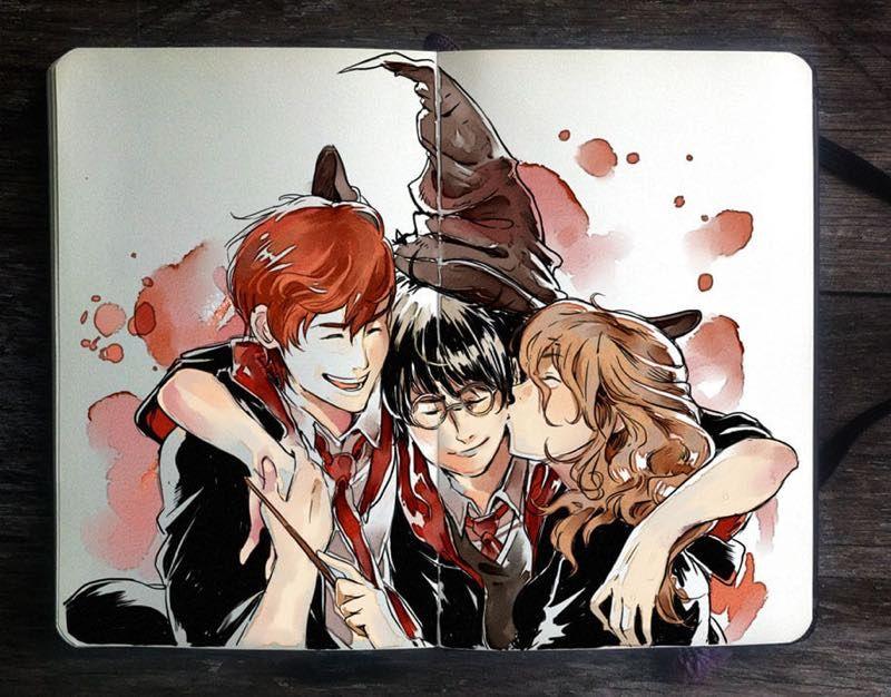 Illustrazioni Incantesimi Harry Potter 08