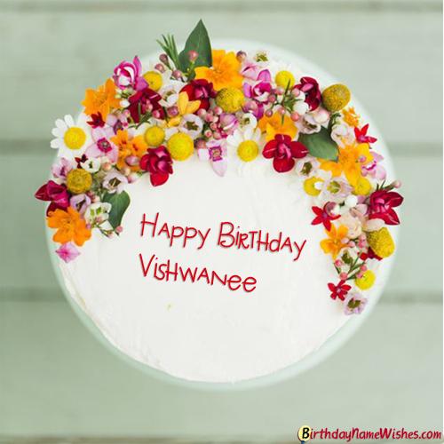 Vishwanee Birthday Cake Happy birthday cakes, Birthday