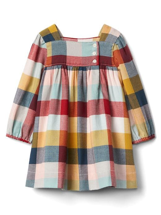 Kariertes Flanellkleid 29 95 Kids Outfits Baby Dress