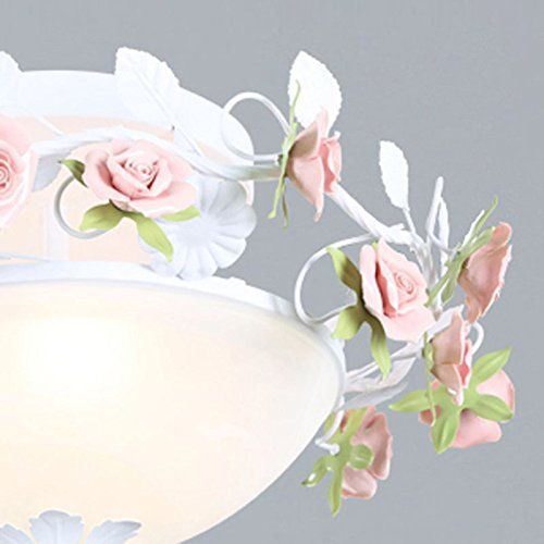 Pastoral Blumen Kinderzimmer Deckenleuchte Lampe Creative - lampe für schlafzimmer