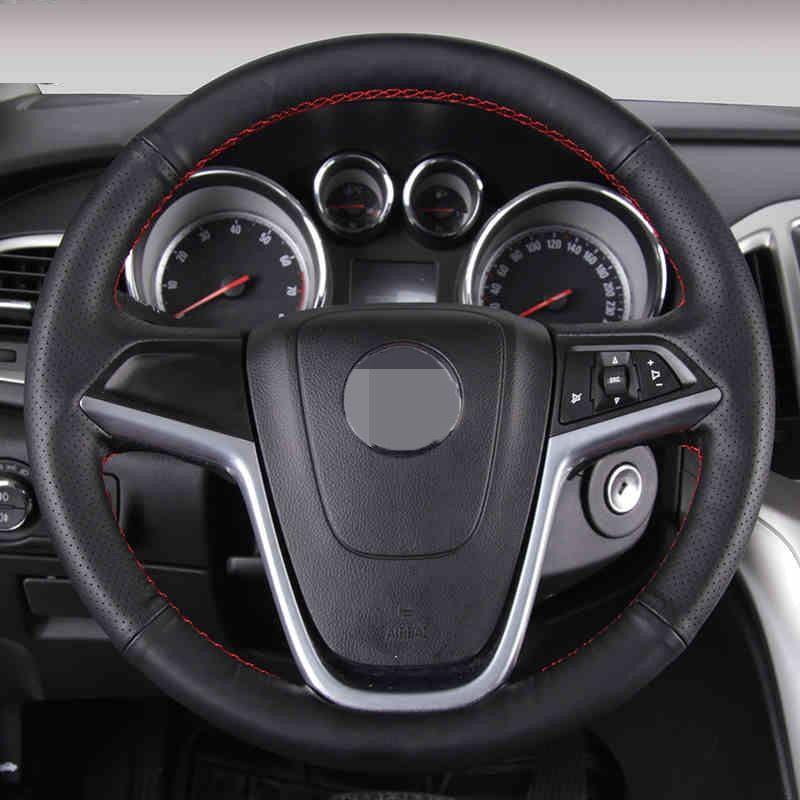 Black Artificial Leather Car Steering Wheel Cover For Buick Excelle Xt Gt Encore Opel Mokka Review Car Steering Wheel Cover Steering Wheel Cover Steering Wheel