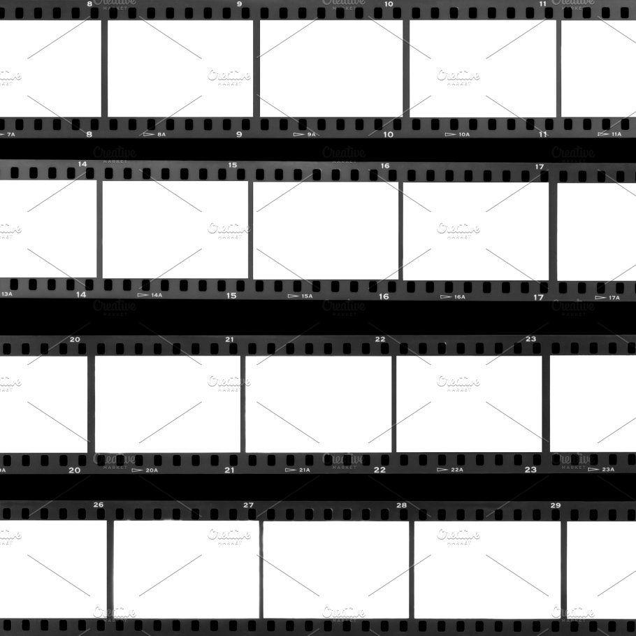 Contact Sheet Film Contact Sheet Film Strip Film