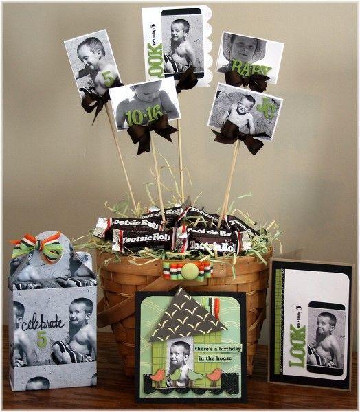 Cute Wedding Centerpiece Ideas: Cute Idea For Graduation Centerpieces Or Baby Shower Or Wedding Shower :)