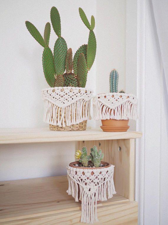 Arden / Macrame Planter Wrap / Macrame Home Decor