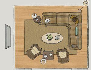 How to arrange furniture no fail tricks living room for Nouvelles dispositions de maison