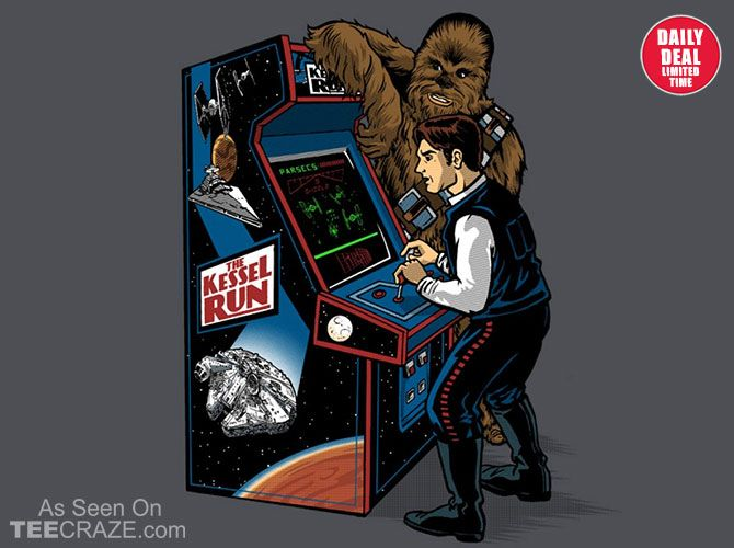 StarWars playing games on earth!;)