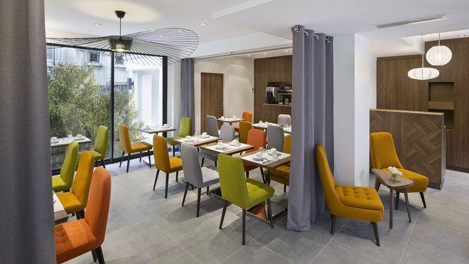 Separation rideau fil recherche google resto for Decor hotel fil