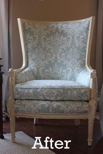 DIY Reupholstering @ Apartment Therapy