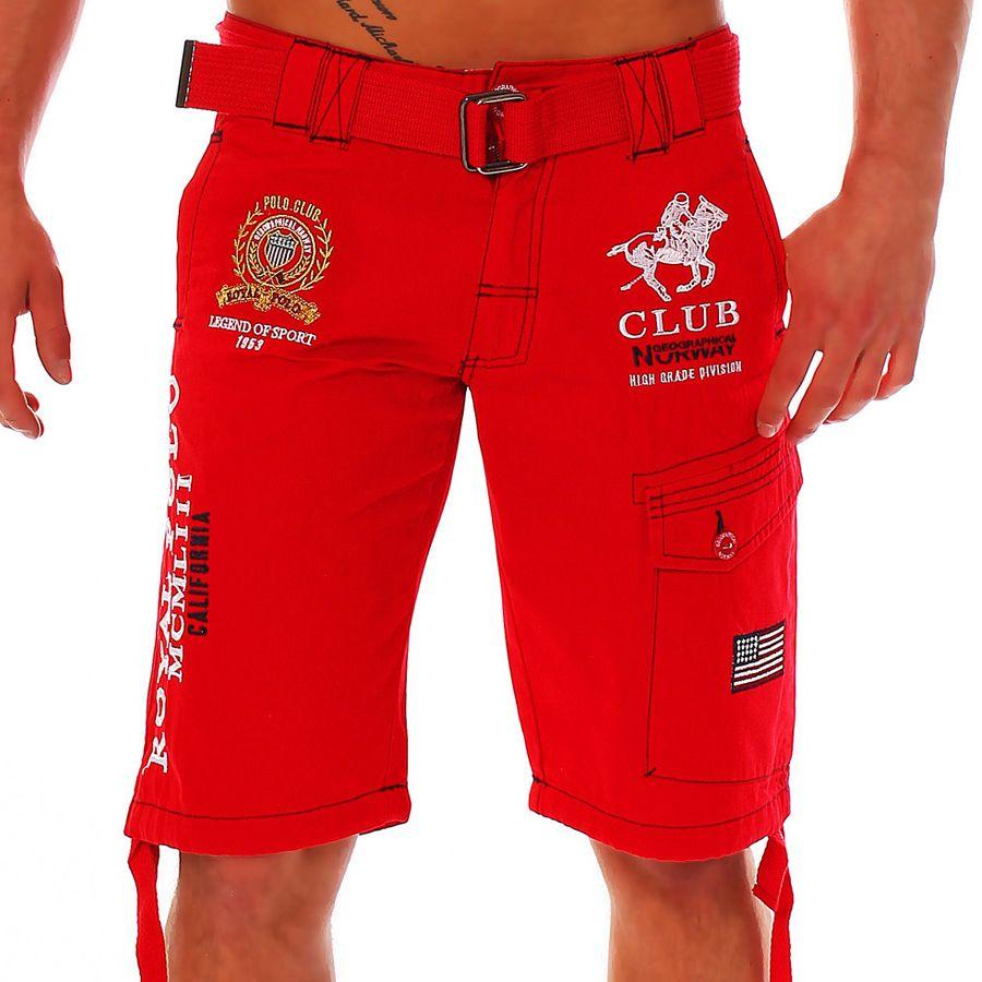 30e031591 Geographical Norway pringel Bermuda Men's Shorts Shorts ...
