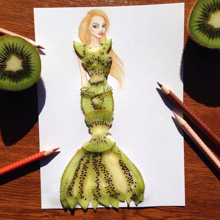 Elle crée des robes au style unique en utilisant des objets du quotidien (avec images ...