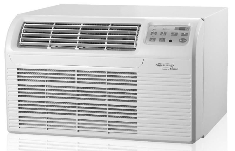 Soleus Air Sg Ttw 12hc 26 12 000 Btu Air Conditioner With Electric
