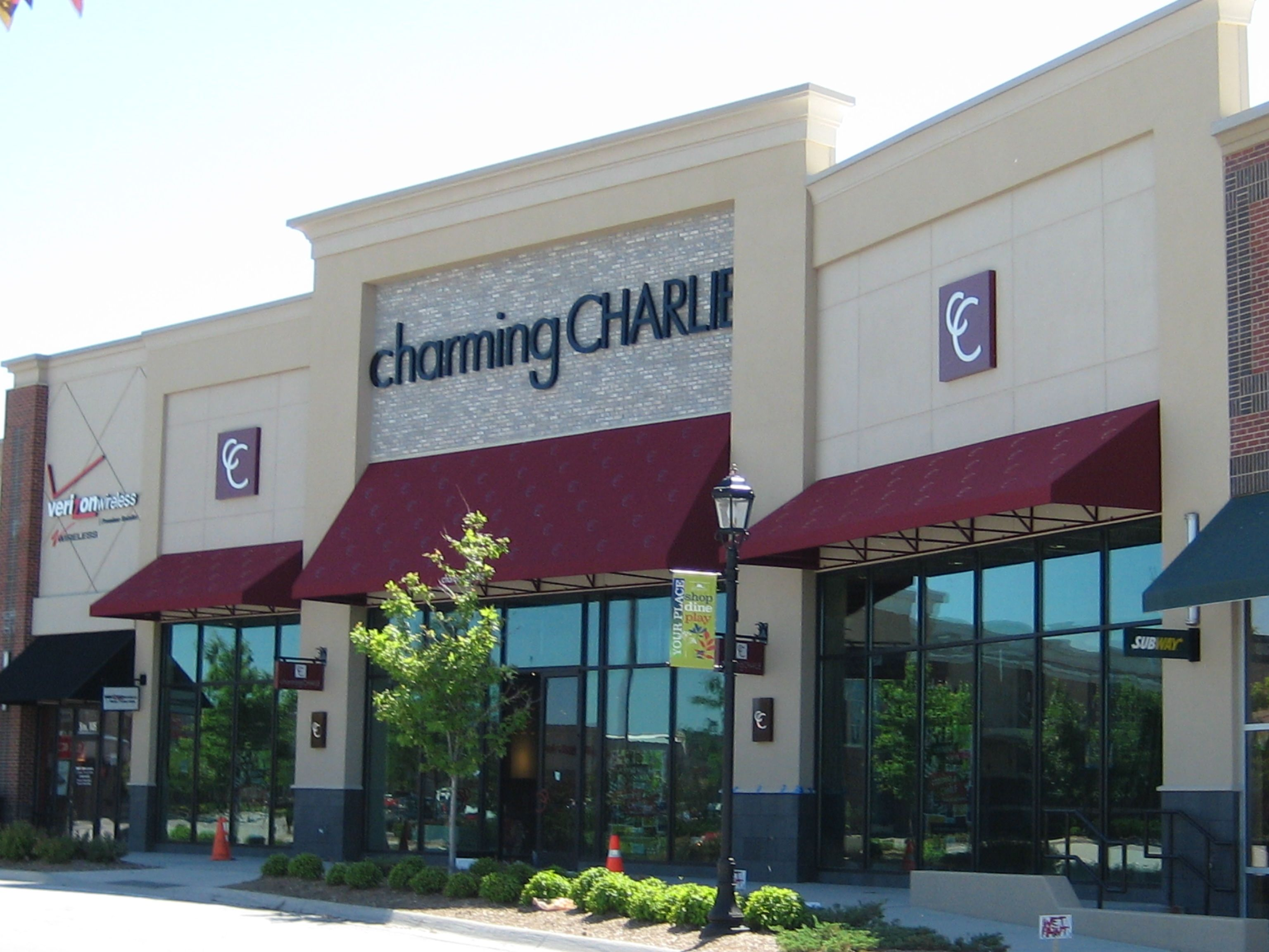 Charming Charlie S Awnings Village Pointe Shopping Center Boat Covers Awning Repair