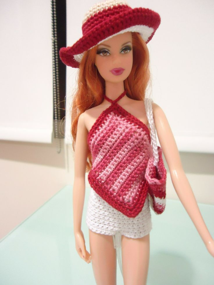 knitted barbie doll clothes - Google Search | Barbie Doll Knitting ...