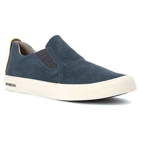 SeaVees Hawthorne Slip On Standard   Men's - Orion Blue Sueded Leather