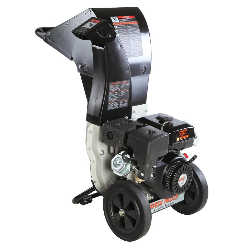 Brush master 3 in 11 hp 270cc gas powered self feed