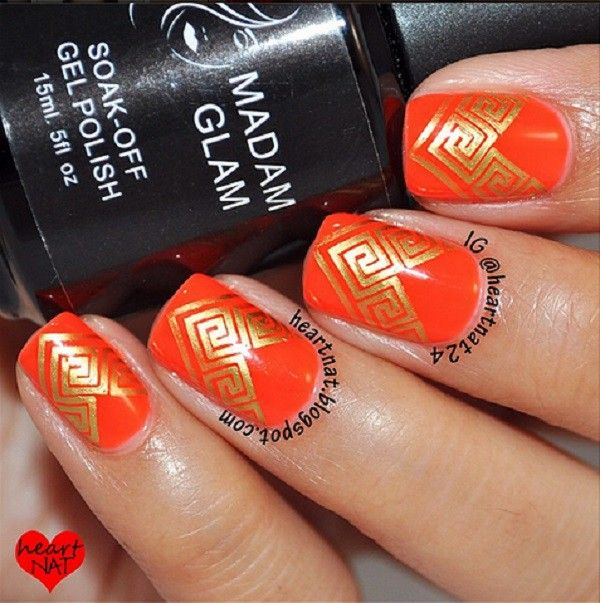 Fall nail art inspiration from Madam Glam | Check out more Cruelty ...