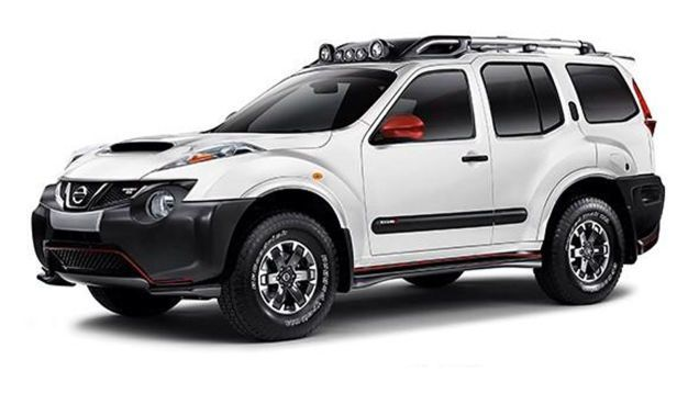 Nissan Xterra With A Nismo Juke Front Clip