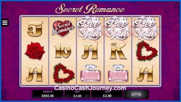 New Secret Romance Slot