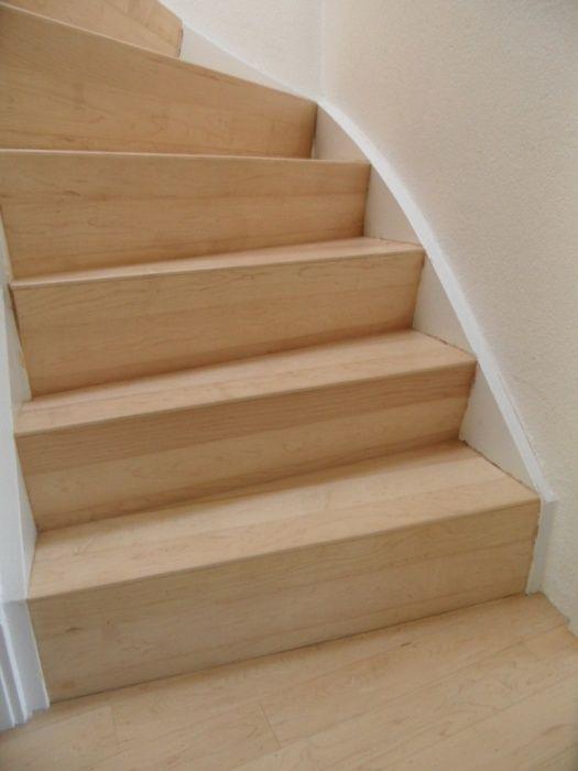 Afbeeldingsresultaat voor trap hout bekleden trap for Trap buiten hout