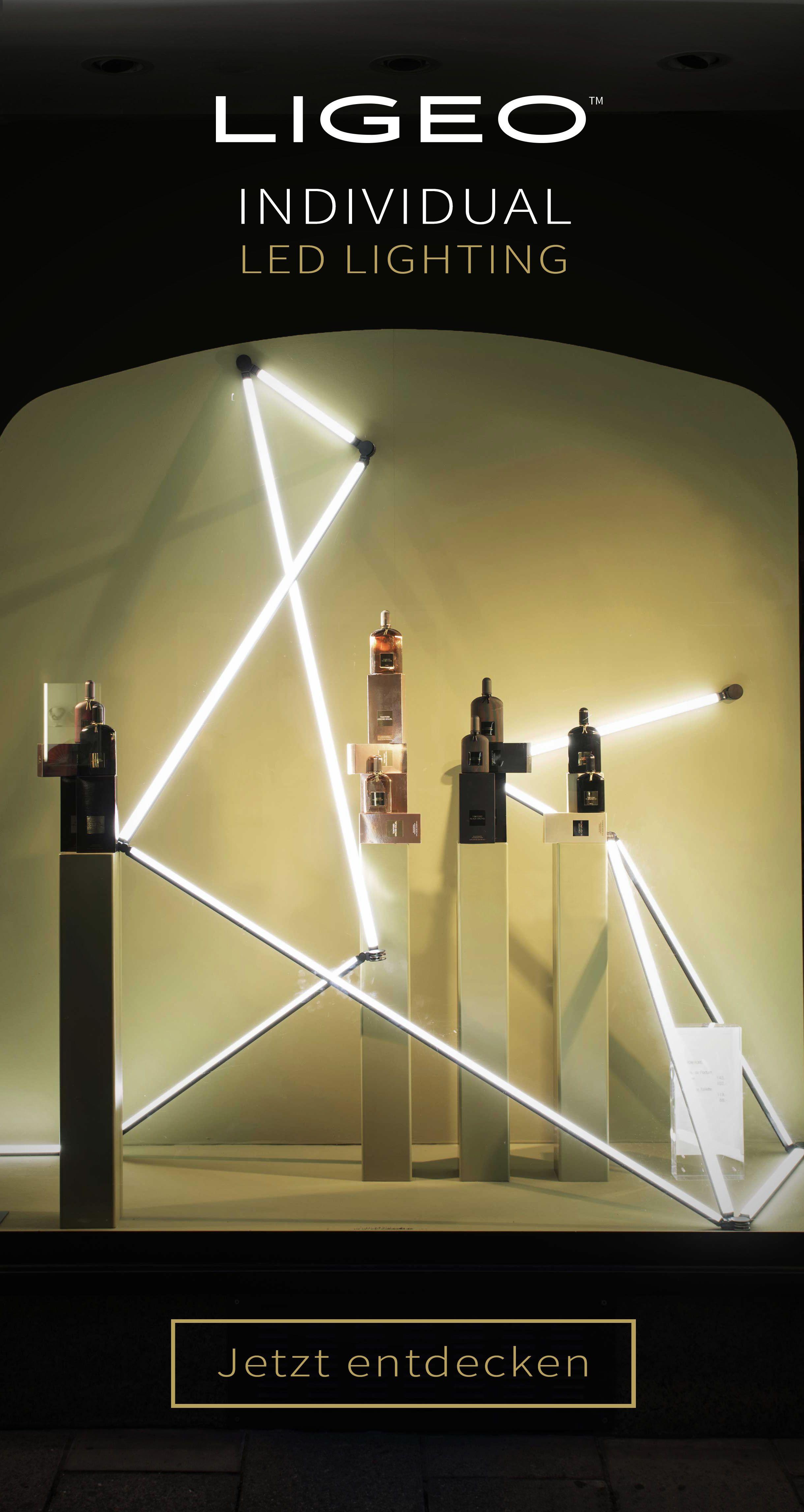 Led Beleuchtung Fur Retail Stores Und Ladenbau In 2020 Led Led Leuchten Led Stab