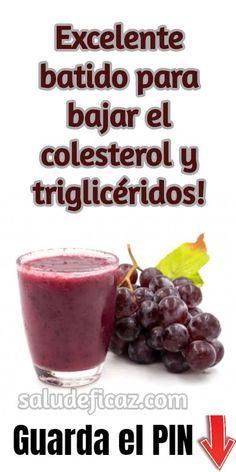 remedios naturales para bajar colesterol y triglicéridos