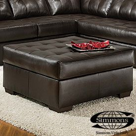 View Simmons Manhattan Ottoman Deals At Big Lots Ottoman Leather Living Room Set Ottoman Furniture